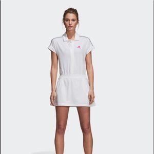 Adidas | Seasonal White Tennis Dress |  XL